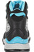 The North Face Hedgehog Hike Mid GTX Schoenen Dames grijs/turquoise